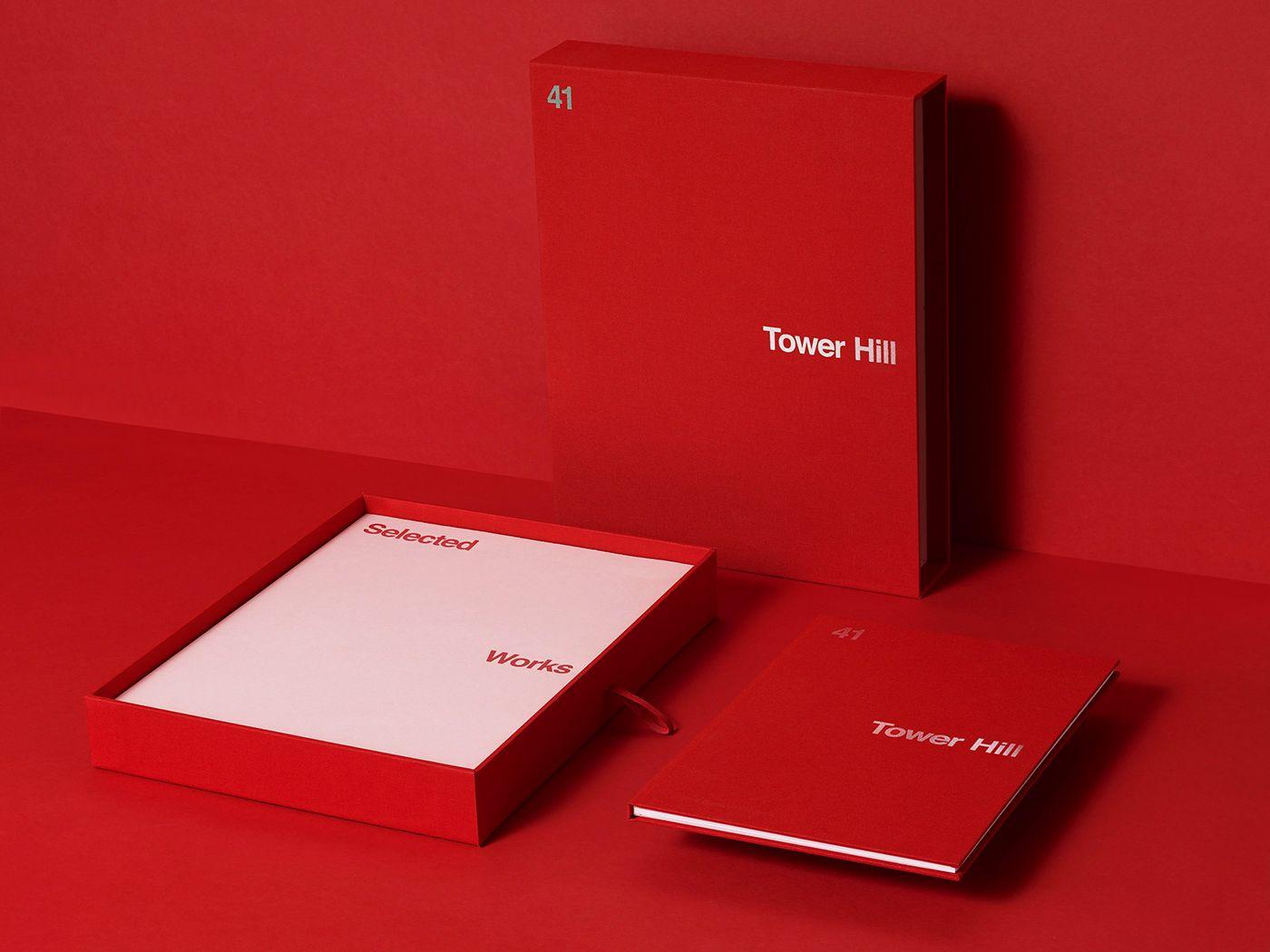 Tower Hill On Behance Design Inspiration Diy Design Catalog Design