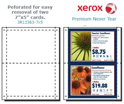 New Xerox Premium Never Tear With Perforations Make Printing Your