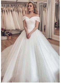 Luxus Brautkleider Prinzessin Weisse Hochzeitskleider Mit Schleppe Modellnummer Xy747 In 2020 Brautkleid Ballkleid Hochzeitskleid