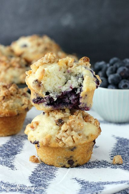Coconut Blueberry Muffins   beyondfrosting.com    #muffinmadness by Beyond Frosting, via Flickr