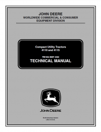 Repair manual john deere 4110 4115 compact utility tractors repair manual john deere 4110 4115 compact utility tractors technical manual tm 1984 fandeluxe Choice Image