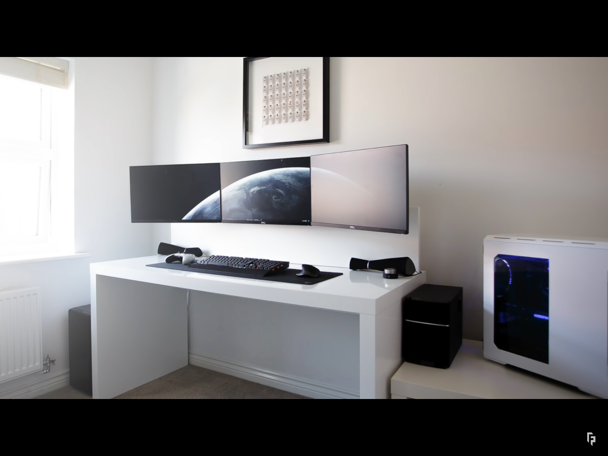 pin by alfred king on home theater and gaming computer desk setup rh pinterest com
