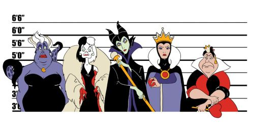 The bad girls of Disney