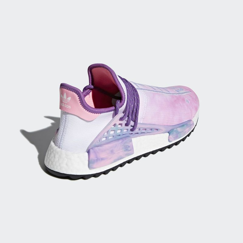 separation shoes 4b7a3 ce782 AC7362 Pharrell Williams x adidas NMD Hu Trail Holi Pink Glow adidas  adidasnmd