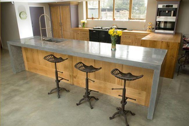 Resultado de imagen para cocina concreto pulido cocinas