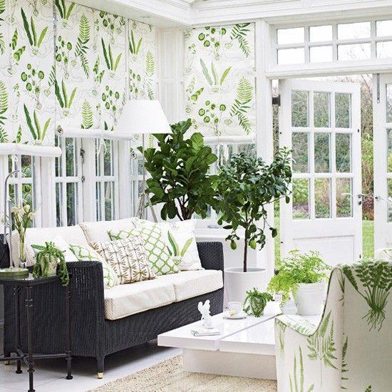 Sunroom Porch in White