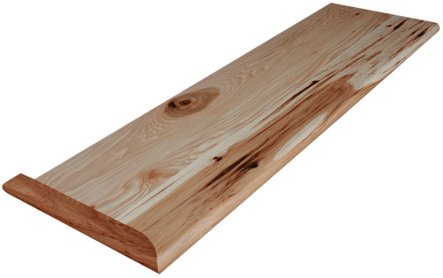 Best Character Hickory Stair Tread Staircase Wood Stair 400 x 300