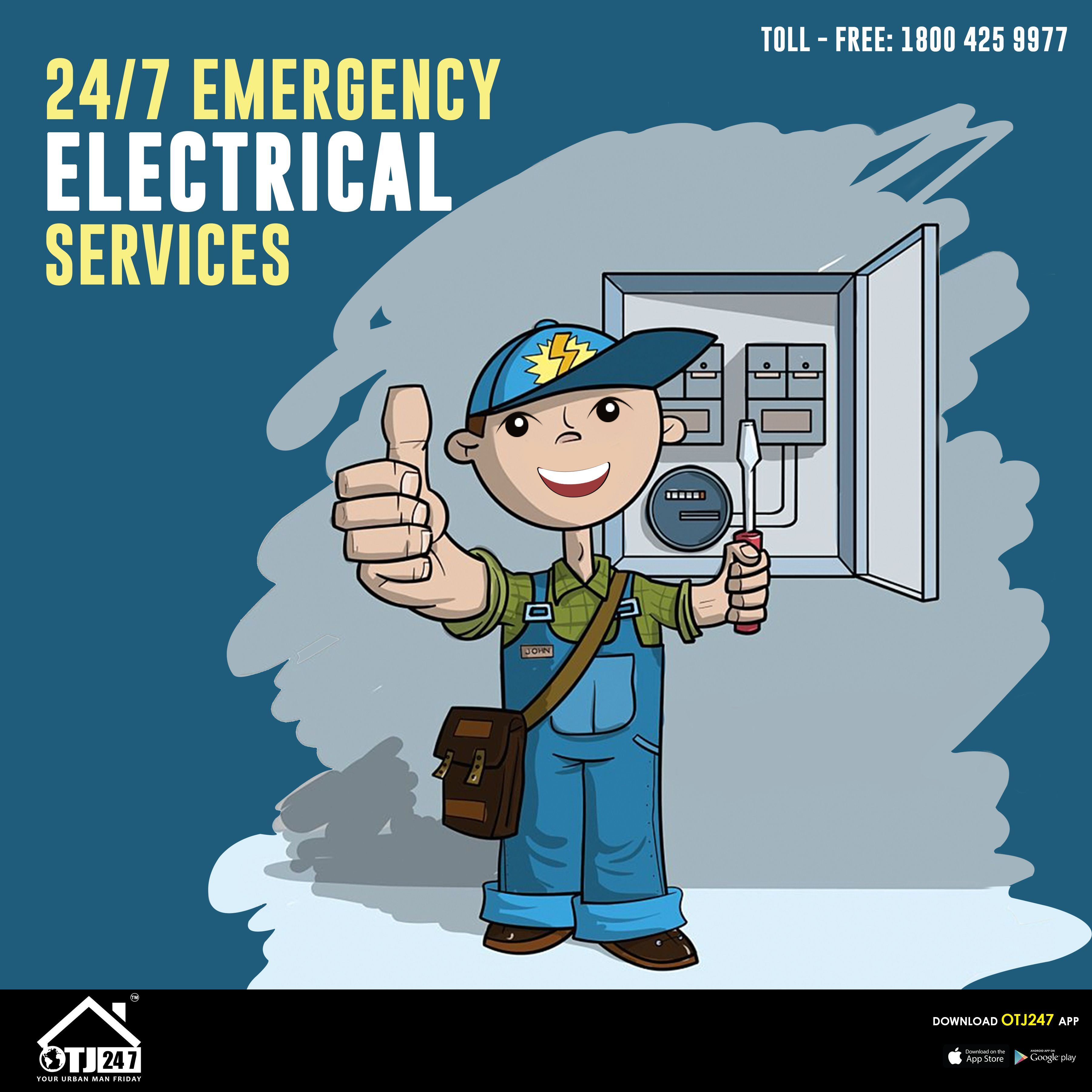 24/7 Emergency Electrical Service In Bangalore.. Book Now