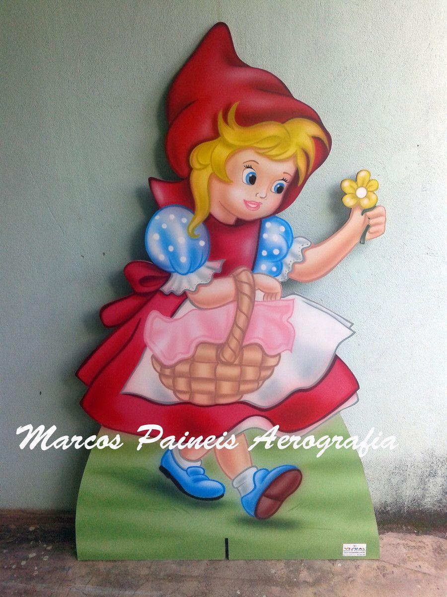 Painel de chão Chapeuzinho Vermelho   Marcos Paineis   Elo7