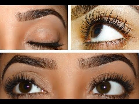 How to make your eyelashes thicker fast