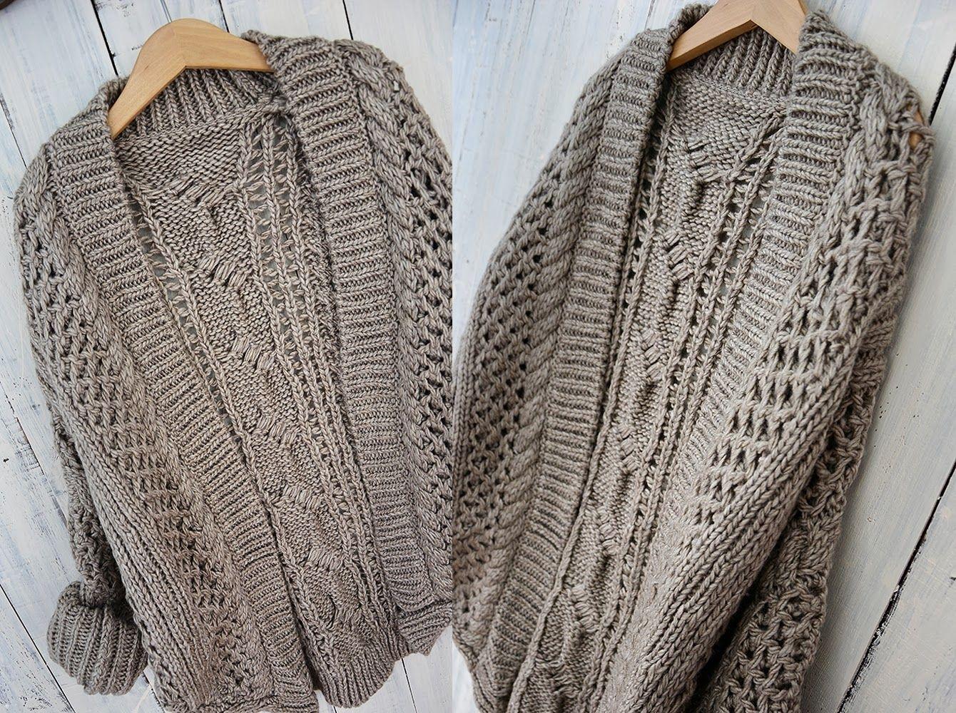Casual Gruby Cieply Sweter Blezer Z Wloczki Hot 3786826934 Oficjalne Archiwum Allegro Crochet Scarf Sweaters Fashion