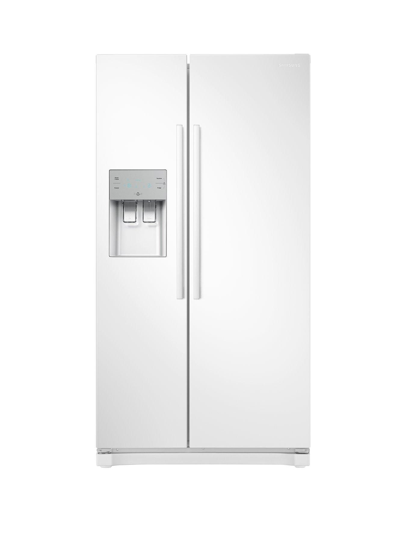 Samsung rsnwweu america style frostfree fridge freezer with