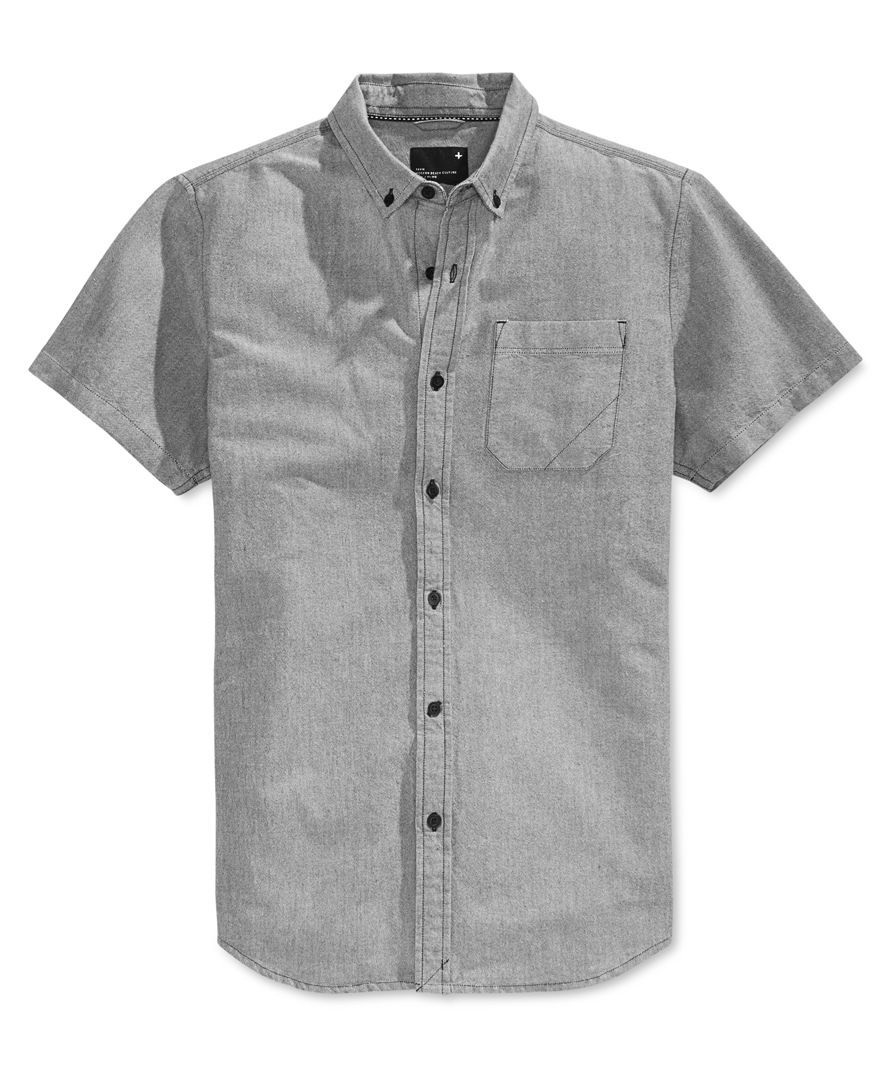 218a23e47ce0d Tavik Men s Uncle Solid Short-Sleeve Shirt