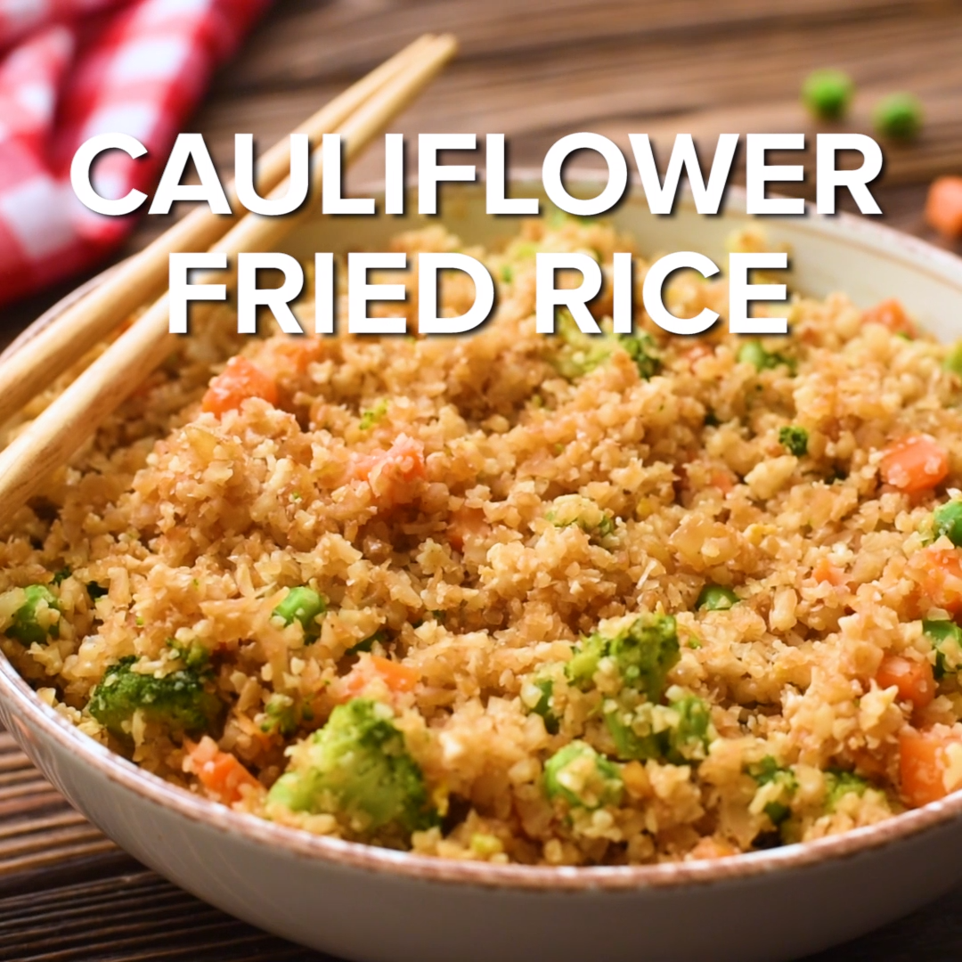 Cauliflower Fried Rice This Low Carb Cauliflower F
