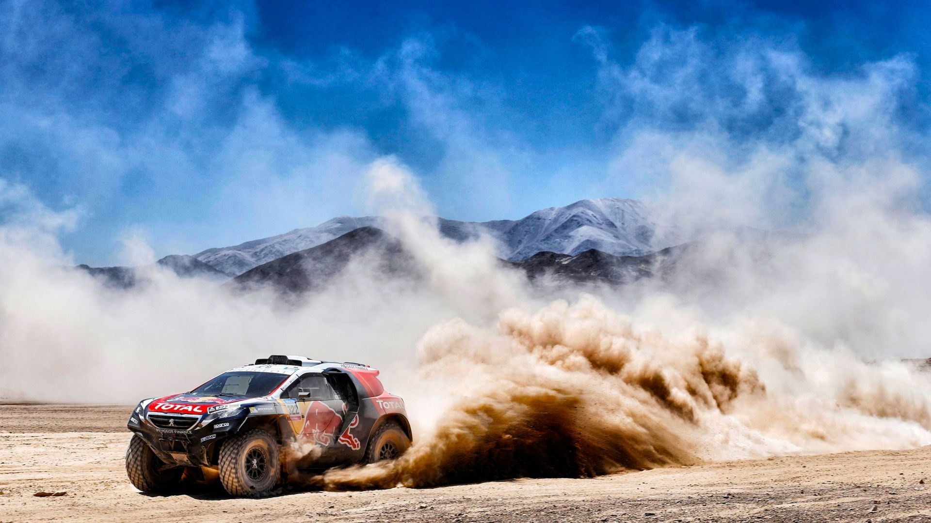 Desktop Wallpaper Rallying Dusk Sports Car Race Hd Image Picture Background 07fe76 Dakar Racing Fast Sports Cars
