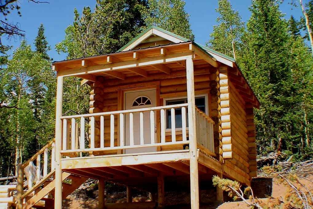 10×12 Log Cabin Kit Project Log cabin builders, Small