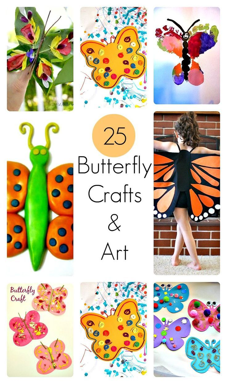 Butterfly Crafts For Kids Love All The Ideas Especially The