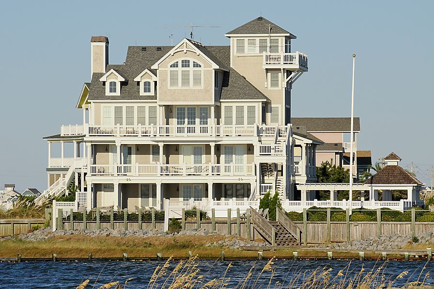 Harbor House 6 Bedrooms 5 2 Baths On The Hatteras Sound Front