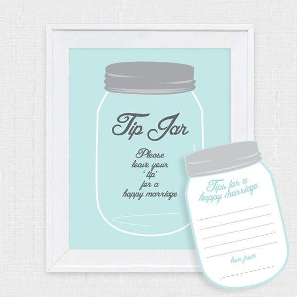 Mason jar tip jar wedding guest book by i do it yourself mason jar tip jar wedding guest book by i do it yourself solutioingenieria Choice Image