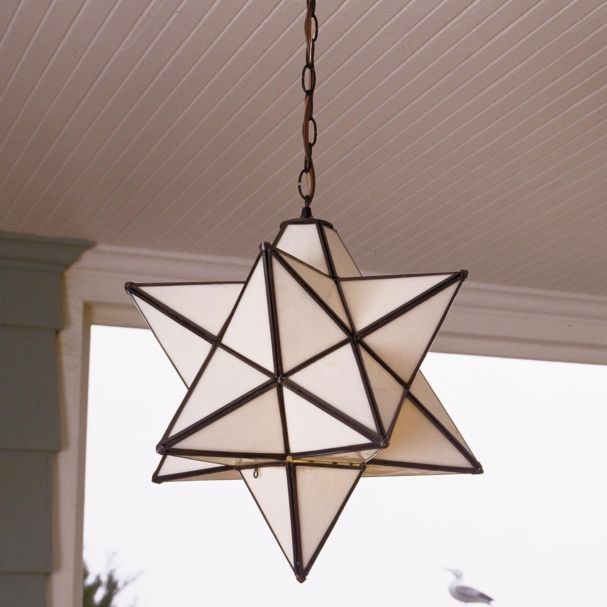 Superior Moravian Star Hanging Light Indoor Outdoor Hanging Light Fixtures Hanging Porch Lights Hanging Lights