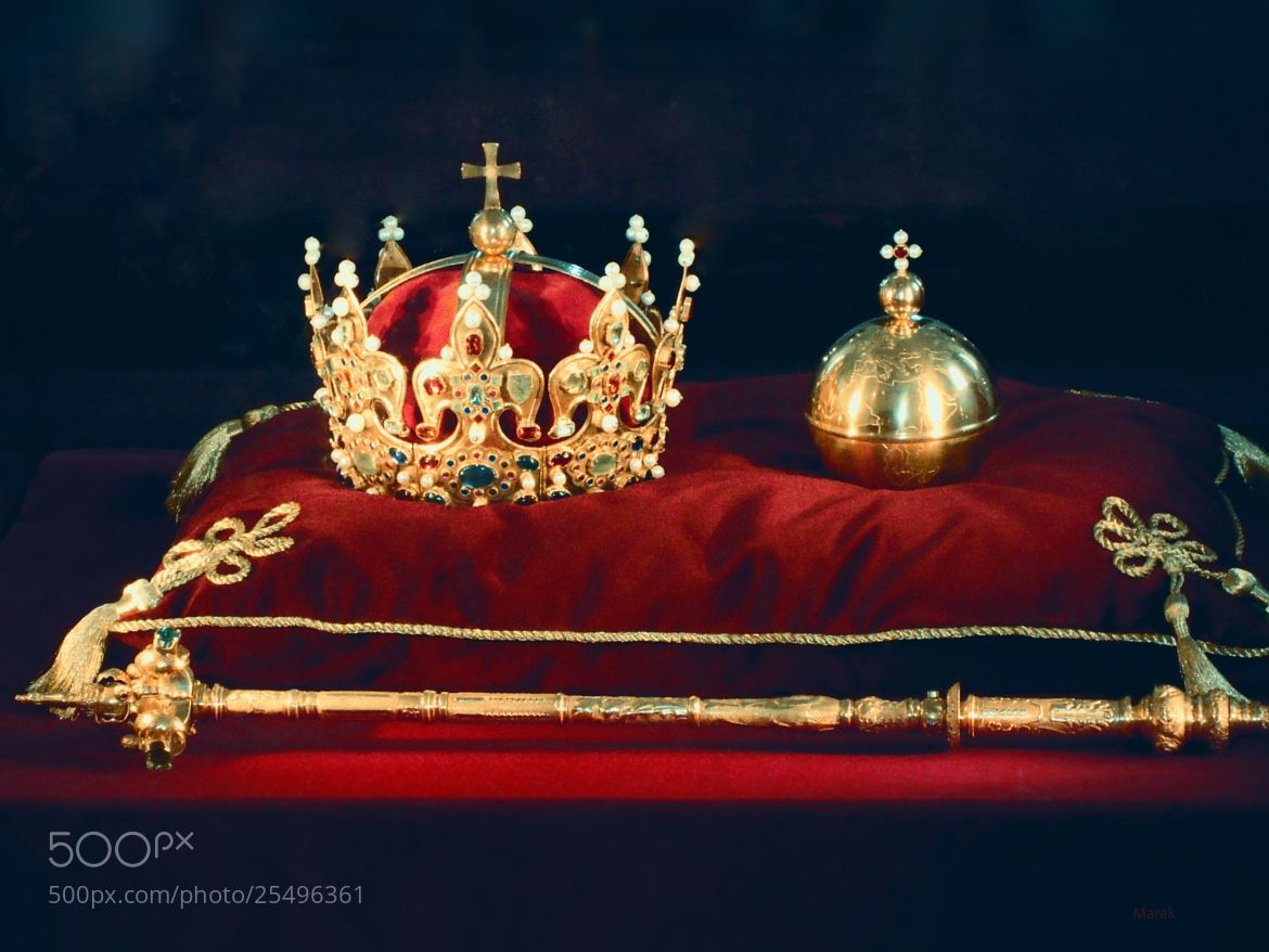 Polish Crown And Scepter Photograph The Polish Crown Jewels By