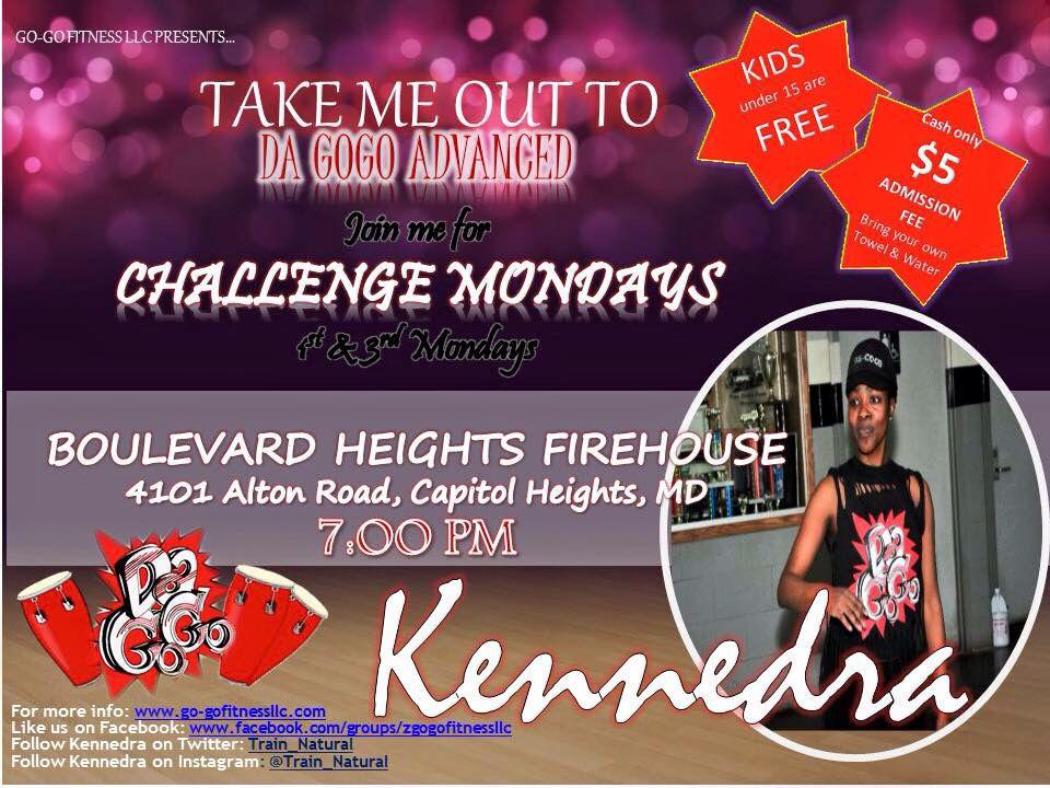 Join me for a Da Go Go Dance Fitness sweatfest!