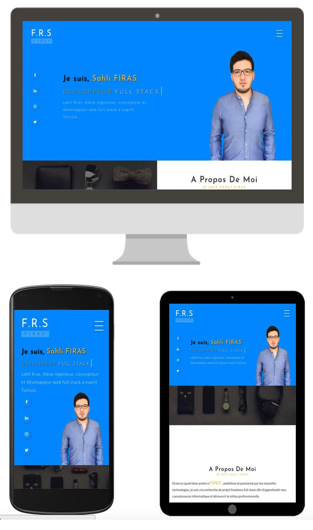 Sahli Firas Cv Ingenieur Et Developpeur Technologies Web Full Stack Tunisie