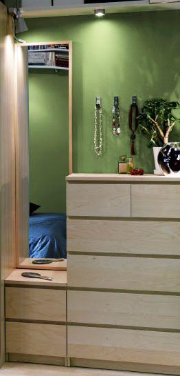 Spiegel über malm Kommode stellen Perfekt! IKEA Ideas Pinterest