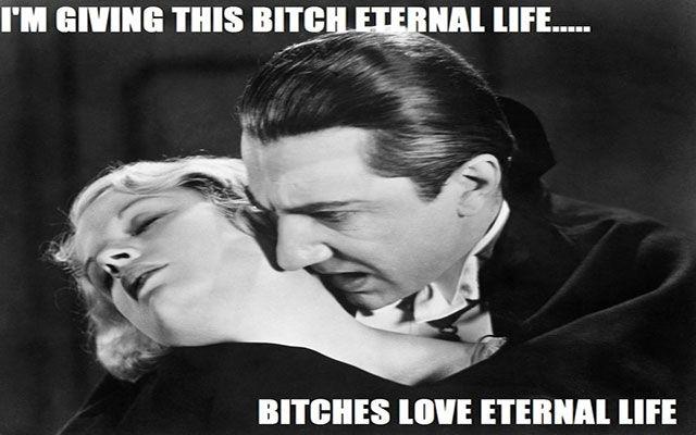 Dracula vampire Horror Meme | Classic horror movies ...