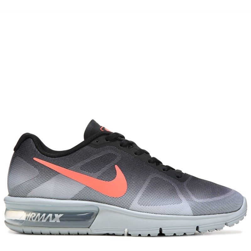 129d1612234d Nike Men s Air Max Sequent Running Shoes (Silver Crimson Black ...
