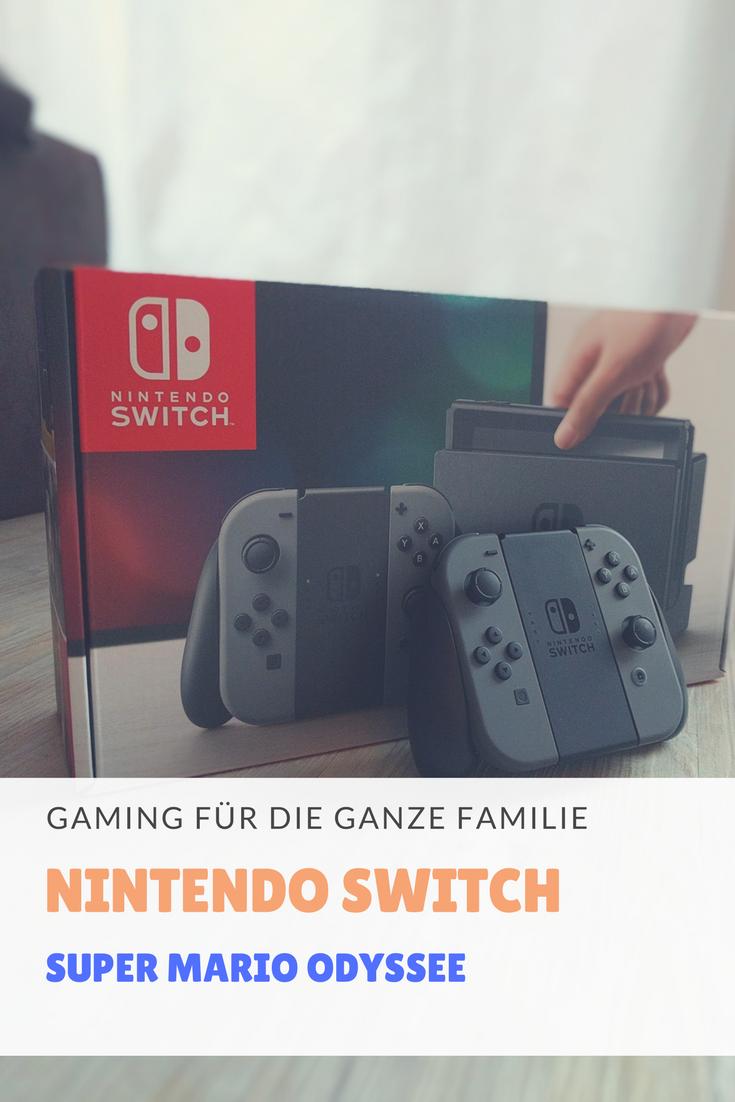 Gaming Mario auf großer Odyssee Nintendo Switch Gaming-Spaß für die ganze Familie. Verlosung v