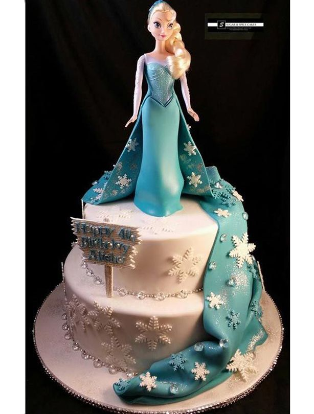 21 Frozen birthday cakes youll probably never be able to make