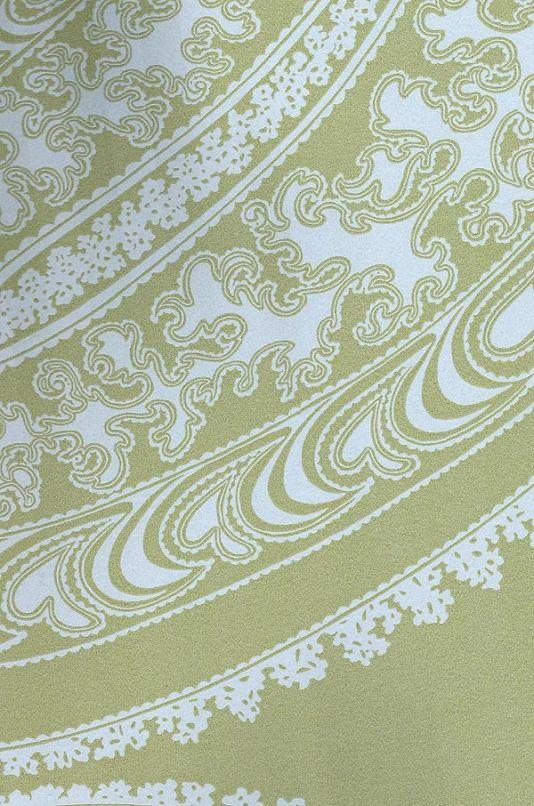 Rajapur wallpaper paisley wallpaperwall wallpaperfabric wallpapergreen
