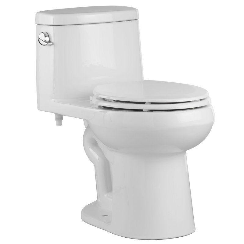 Magnificent View The Proflo Pf9441 One Piece Elongated Toilet With Left Inzonedesignstudio Interior Chair Design Inzonedesignstudiocom