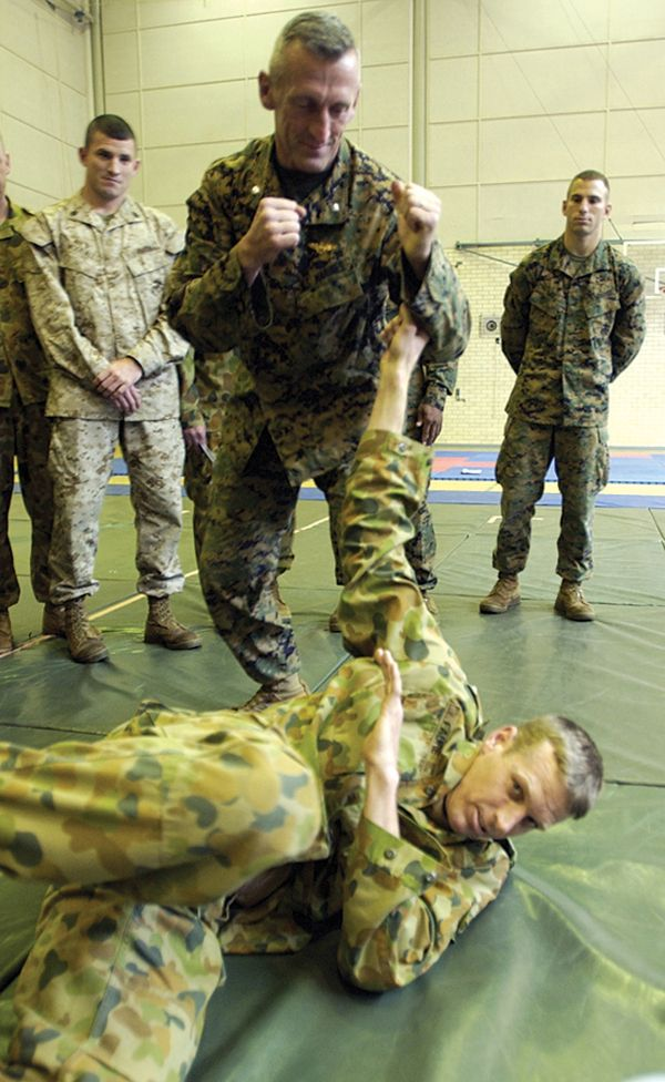 LtCol Joe Shusko Director Of The Marine Corps Martial Arts Program