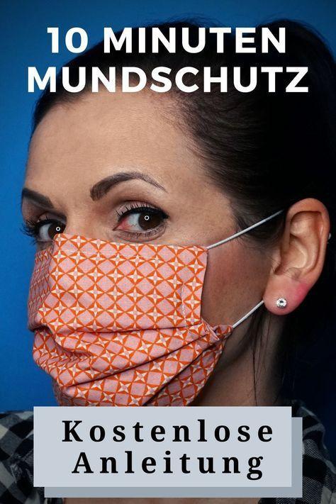 Photo of #stricken ideen ostern 🔶 10 Minuten Mundschutz 🔶 mit Nasenbügel in 6 einf…