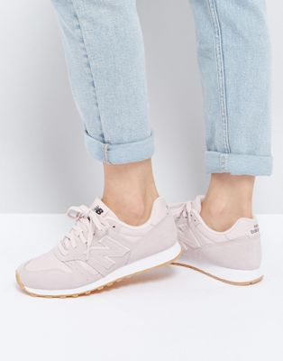 New Balance - 373 - Baskets ton sur ton - Rose | Wardrobe ...