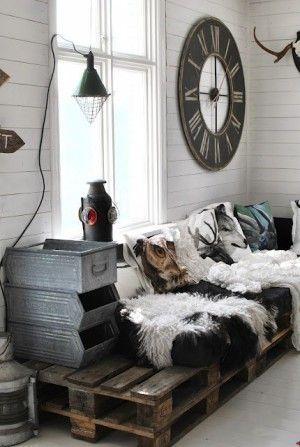 Rustic industrial interior - industrieel interieur - landelijk | For ...
