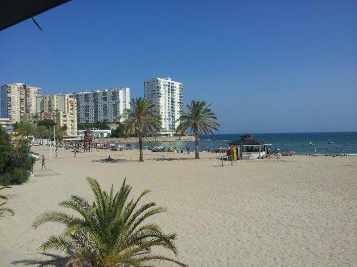 Playa De Los Olivos en Cullera, Valencia