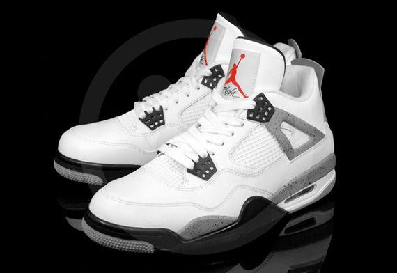 Jordan IV white/cement