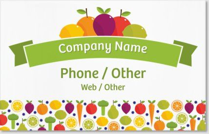 Personalized Banners Designs Farmers Market Food Beverage - Vistaprint banner template