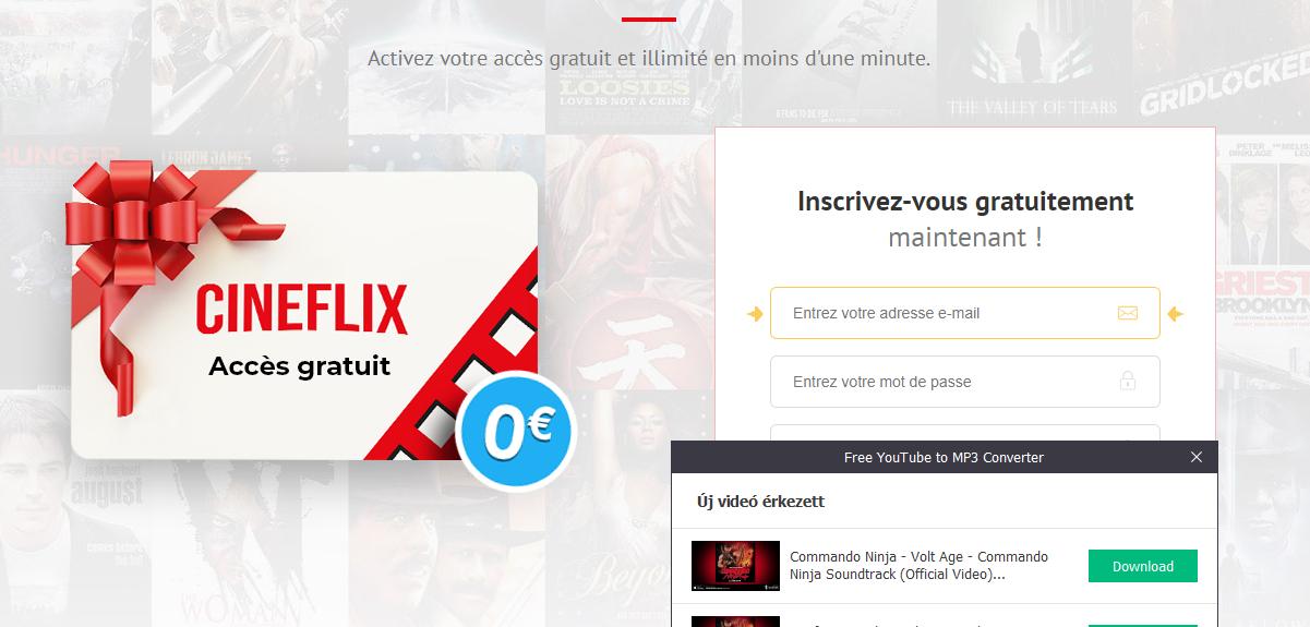 Obtenez un accès illimité à Cineflix maintenant