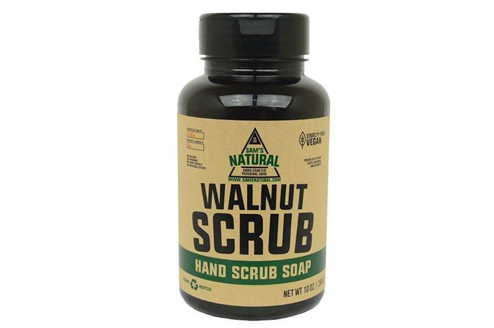 Our first product we ever made is still one of our most popular, and it's now back in stock!! Formulated to naturally scrub the dirt, grease and grime off of blue collar working hands, this scrub is hugely popular with mechanics and craftsmen of all ages! Even if you're not a 'workingman', you'll love this heavy duty cleanser made for use only on the hands (or feet!). Our customers love the mild hardwoods scent and its large shaker jar for easy use. Grab a jar here: bit.ly/1NpgQ08