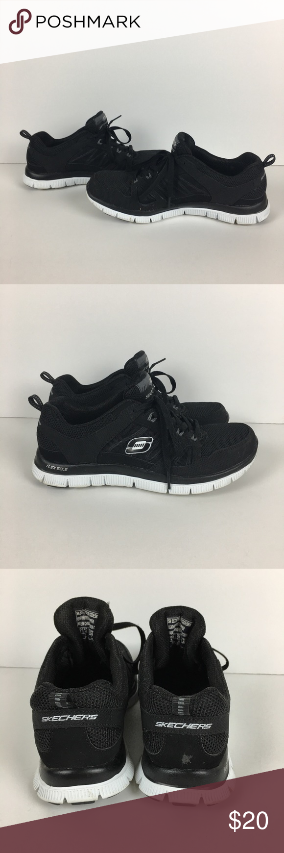 Skechers ~ Womens Sneakers ~ Size 7  ~ PREOWNED