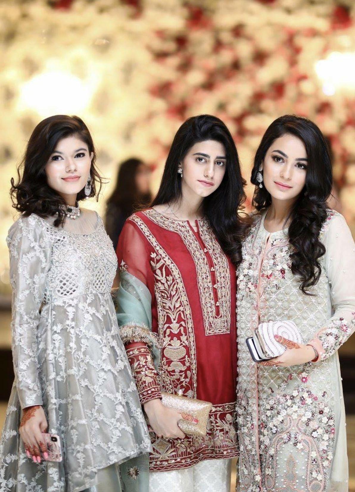 Brides Side Trendy Dresses Summer Pakistani Wedding Outfits Fashion