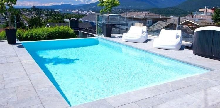Vanishing Edge Swimming Pool Design | Pool Designs | Pool ...