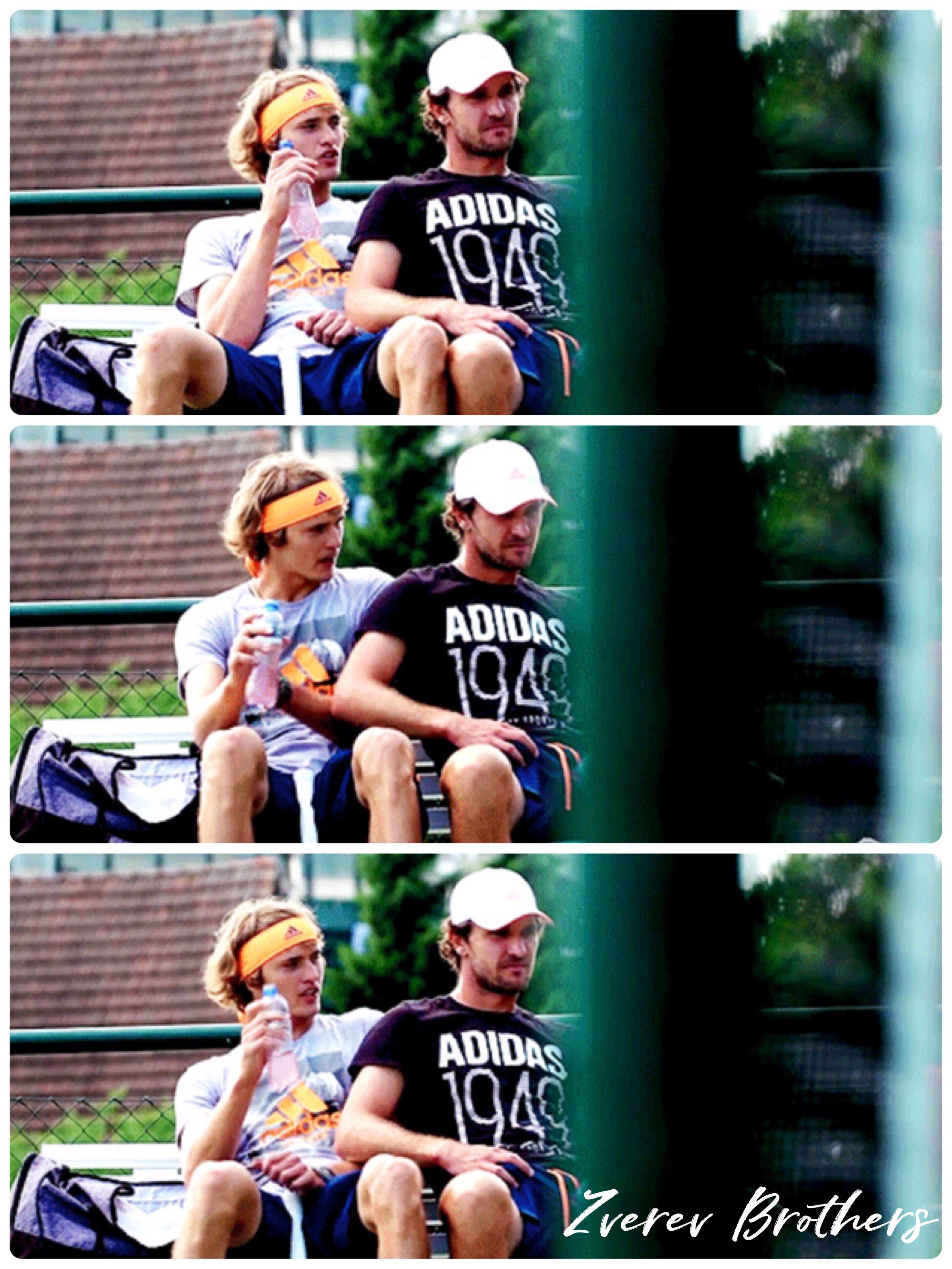 Little Mess Zverev Brothers From Atpworldtour Com Tenis