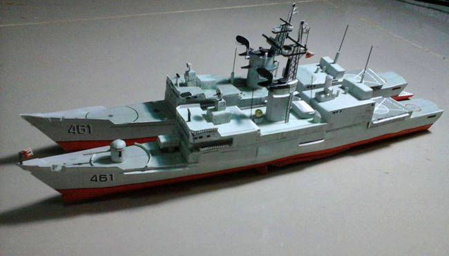 Mv400 Class Htms Chonburi Fast Attack Craft Free Ship Paper Model