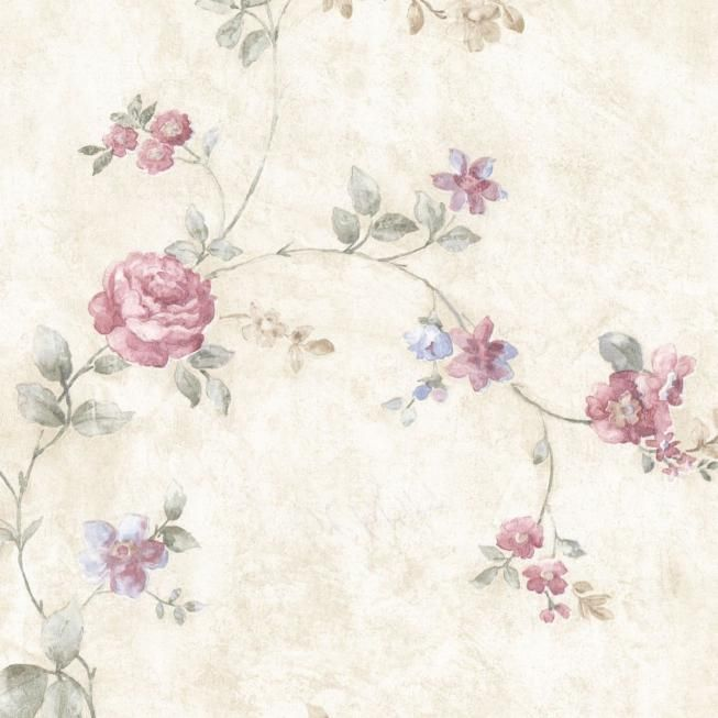fine decor wallcoverings landhaus tapete vintage rose With markise balkon mit vintage tapete rosa