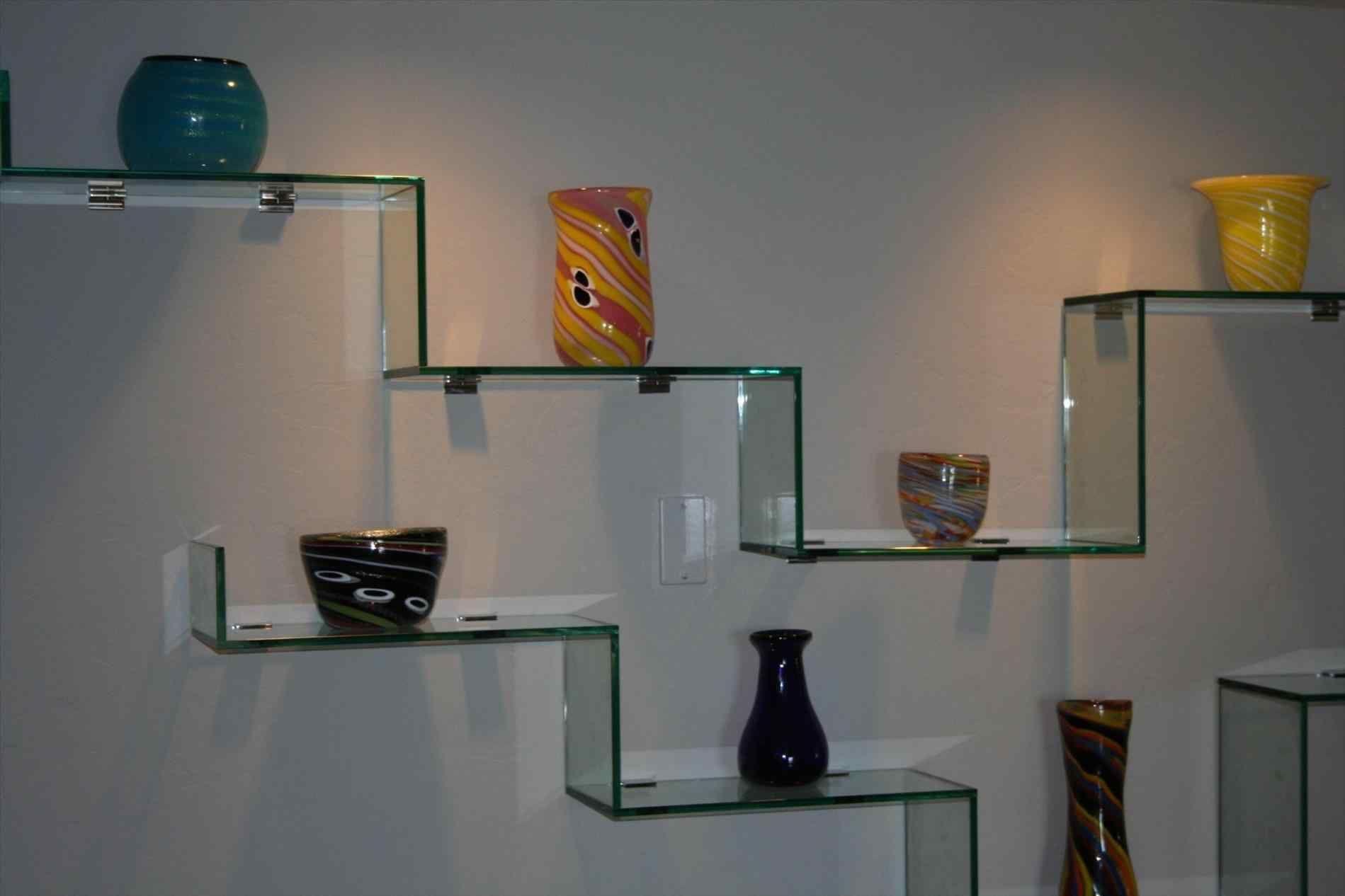 Floating Glass Wall Shelves For Living, Floating Glass Shelves Living Room